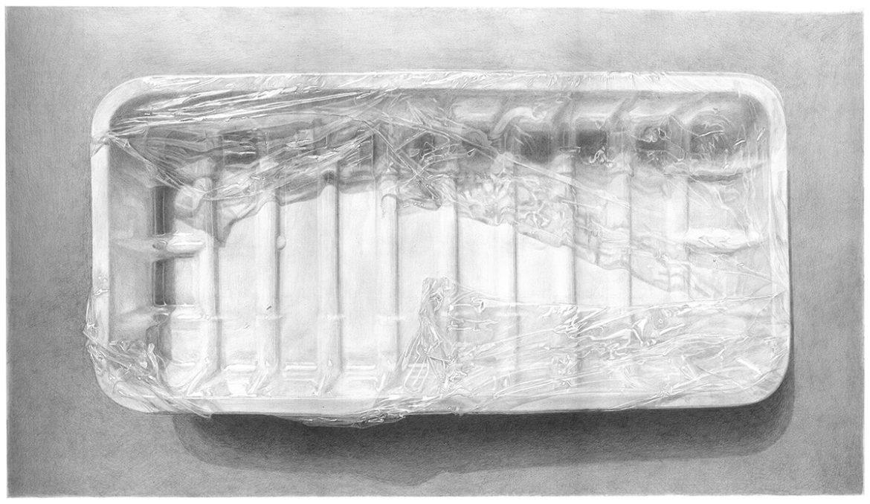 מגשית פלסטיק ונילון נצמד – Plastic tray with plastic wrap – Meatless 4