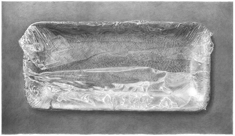 מגשית קלקר ונילון נצמד – Styrofoam tray with plastic wrap – Meatless 5