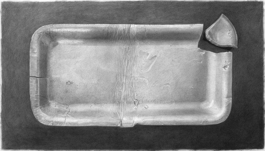 מגשית קלקר – Styrofoam tray – Meatless 1