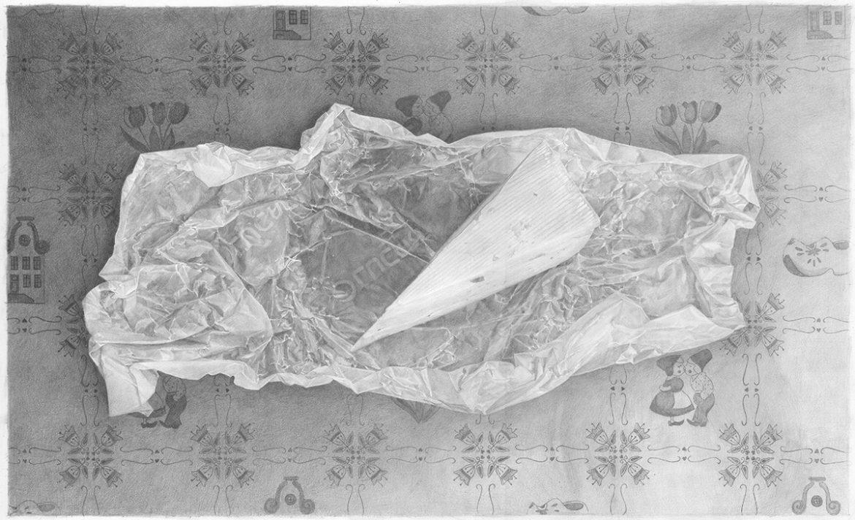 ● נייר שעווה תחת חריץ גבינה – Wax Paper beneath a cheese