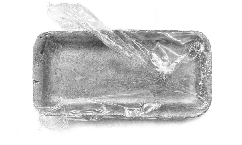 מגשית קלקר ונילון נצמד – Styrofoam tray with plastic wrap – Meatless 6
